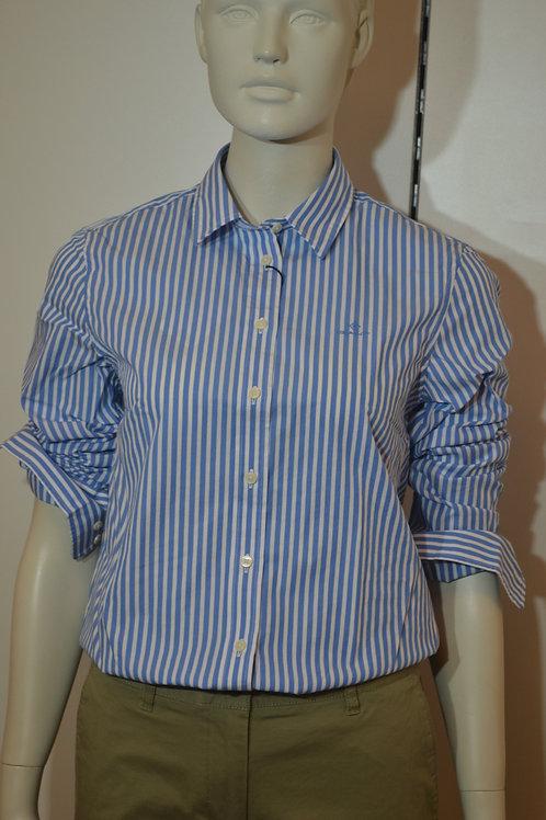Gant Bluse blau gestreift