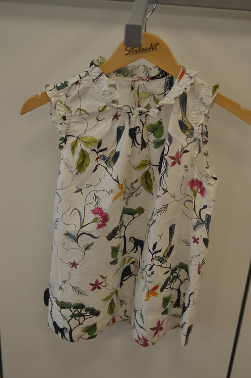 0039 Italy Bluse ohne Arm