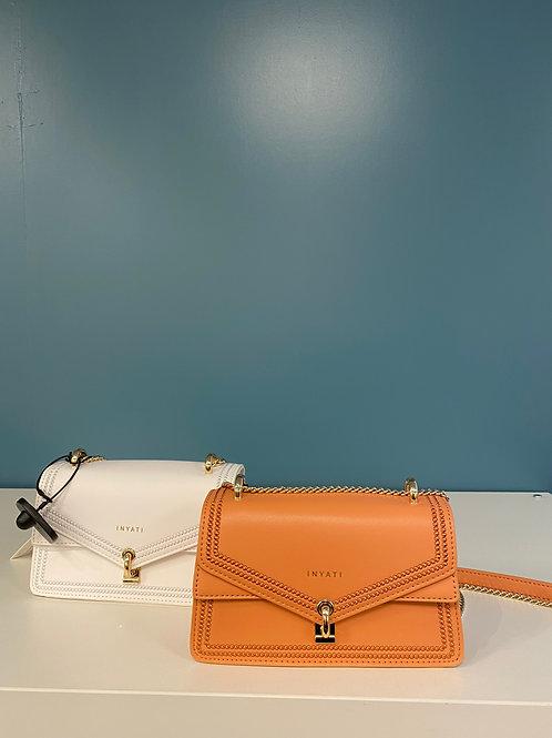 Inyati Umhängetasche weiß oder orangefarben