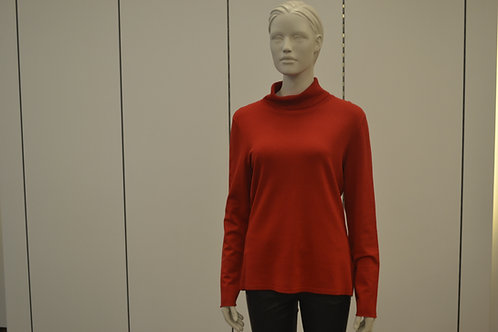 Oui Pullover rot