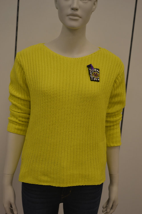 Frogbox Pullover gelb