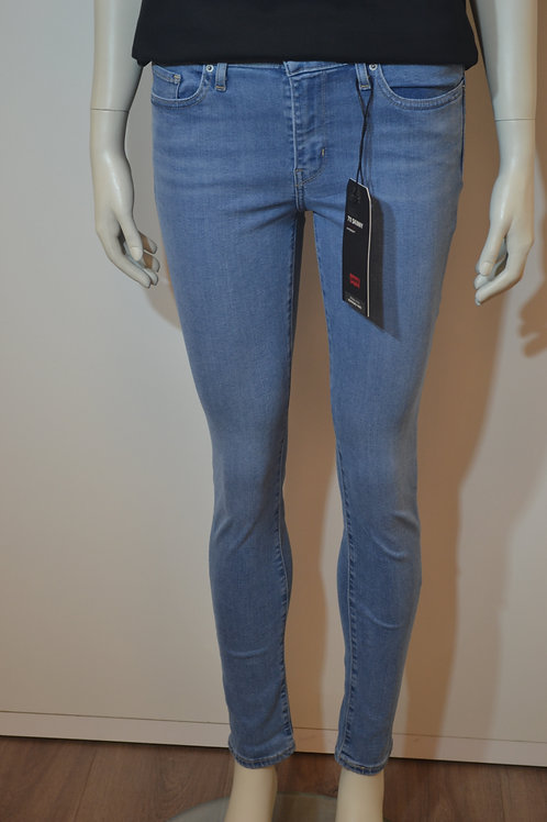 Levi´s Jeans 711 Skinny blau, helle Waschung