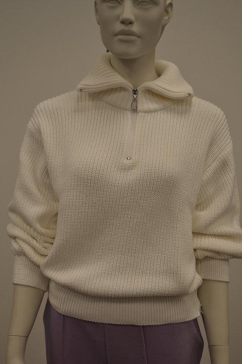 Na-kd Pullover wollweiß