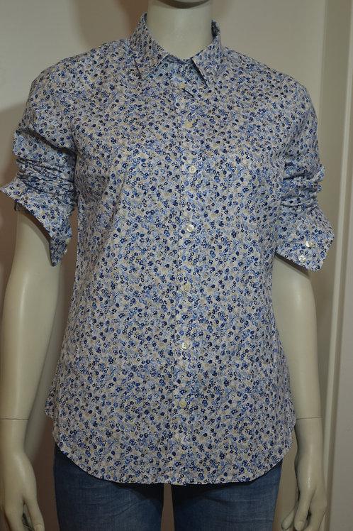 Gant Bluse mit kleinen blauen Blümchen