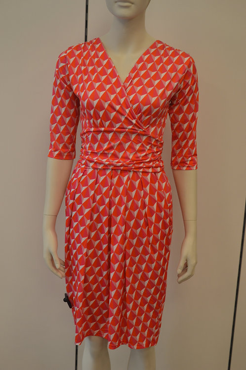 Marivie Kleid pink orange