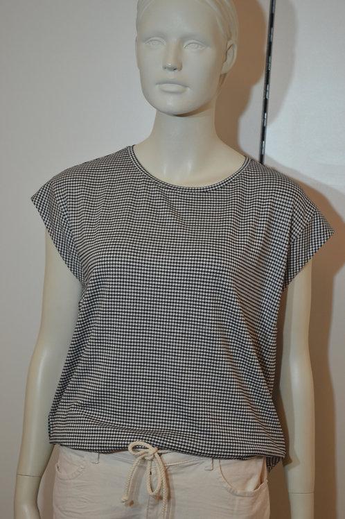 Opus T-Shirt schwarz weiß