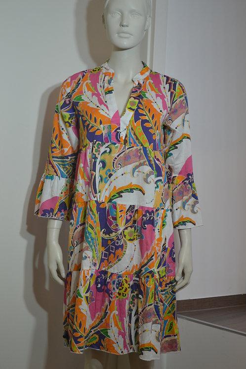 Emily van den Bergh Kleid bunt gemustert