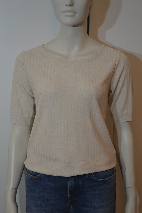 Soyaconcept Strick T-Shirt beige