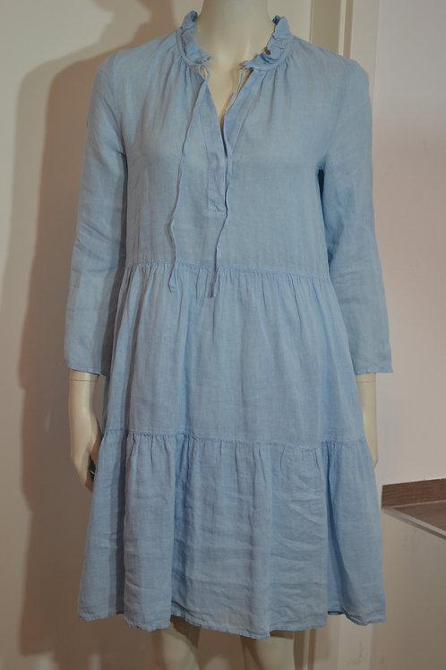 0039 Italy Kleid hellblau