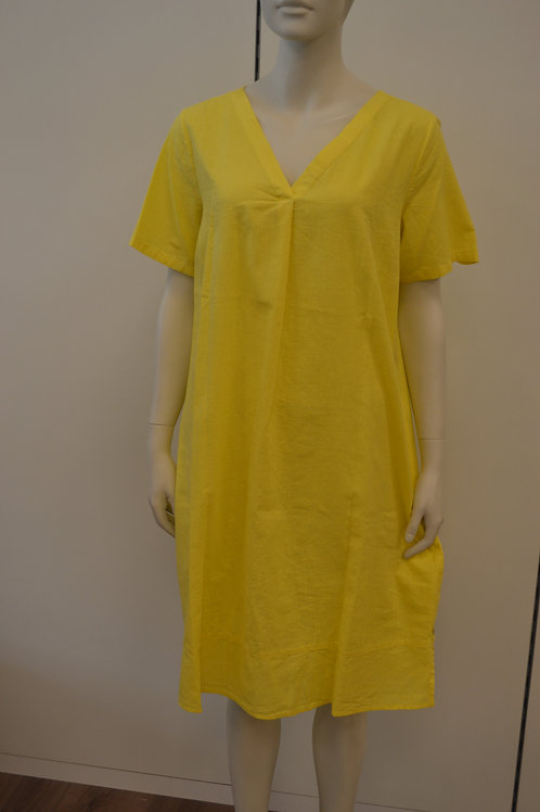 Milano Leinenkleid gelb
