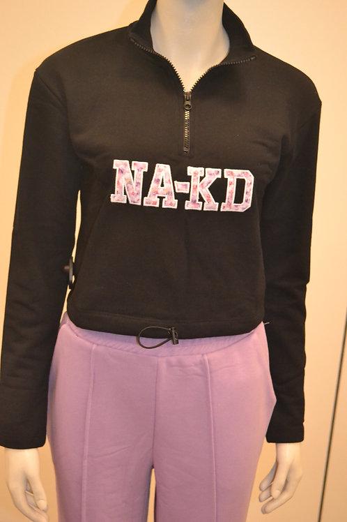 Na-kd Sweater mit Zip