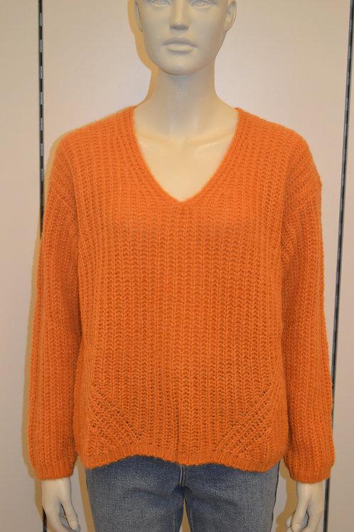 Set Pullover orange