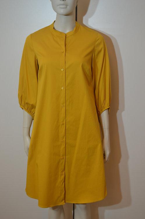 Robe legere Kleid senfgelb