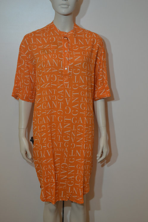 Gant Blusenkleid orange