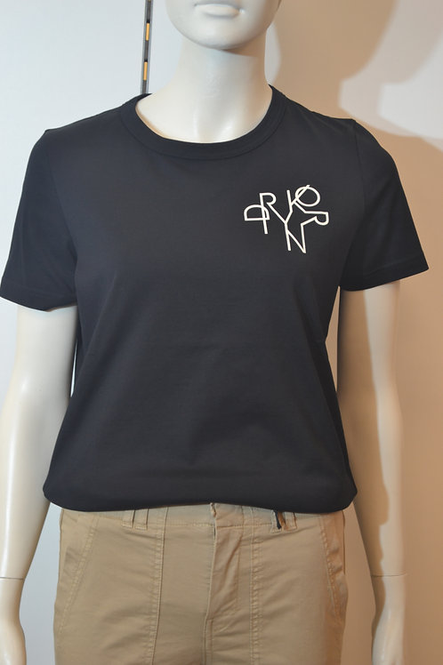 Drykorn T-Shirt schwarz