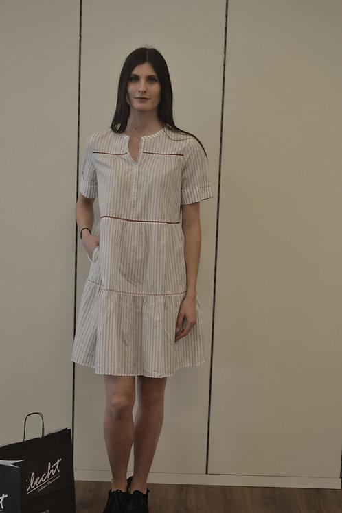 0039-Italy Kleid gestreift
