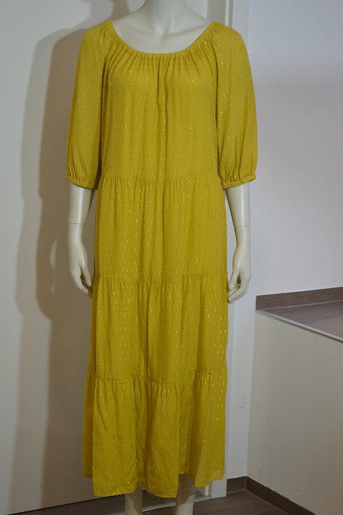 Set Kleid senf/gold