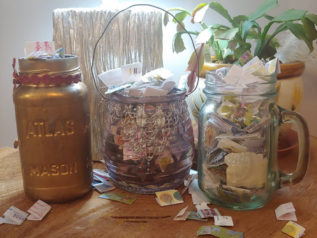 Weekly Wellness Challenge #1: Gratitude Jars