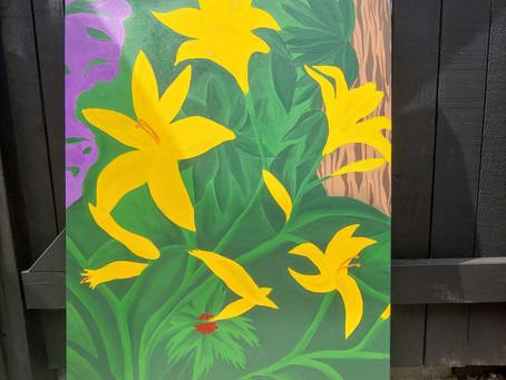 Custom Acrylic and Watercolour Paintings!