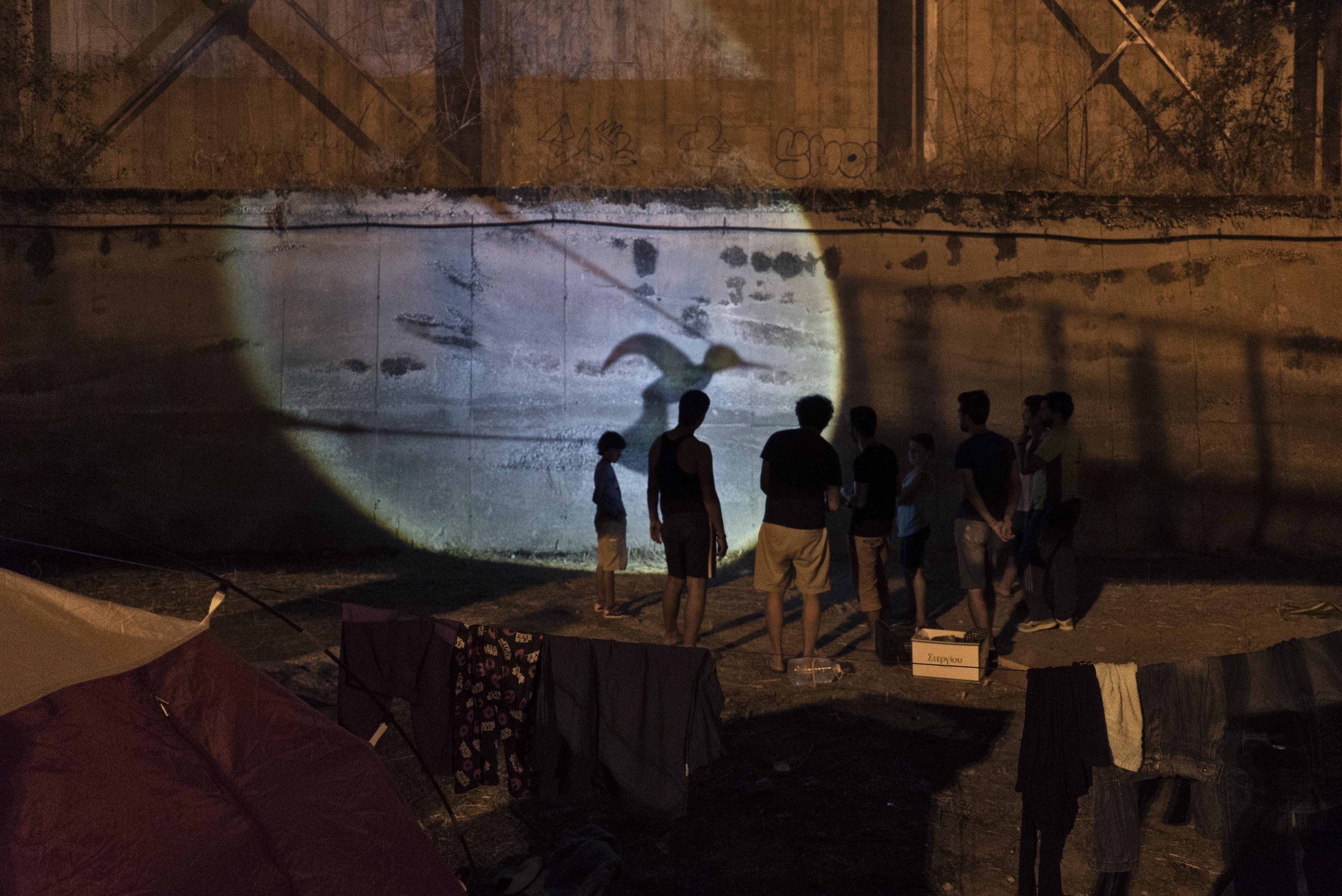 Refugiados - Pireus (Grécia)