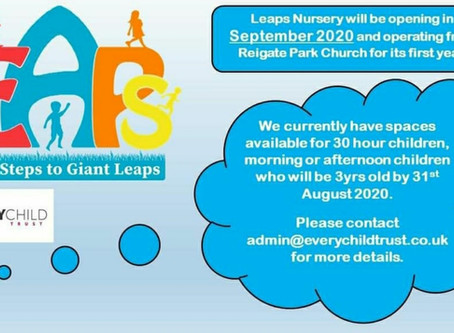 Leap Nursery coming to RPC