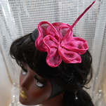 Tropical Noir Collection: Pink Hibiscus