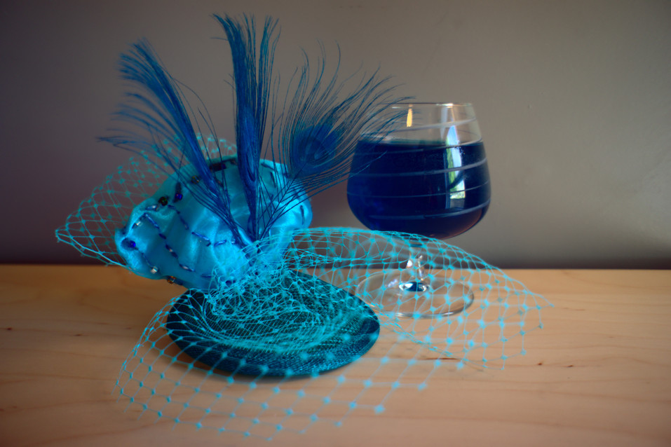 Cocktail Hat Collection: Blue Lagoon