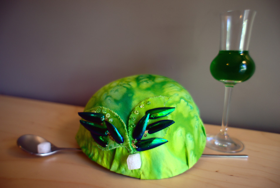 Cocktail Hat Collection: The Green Fairy