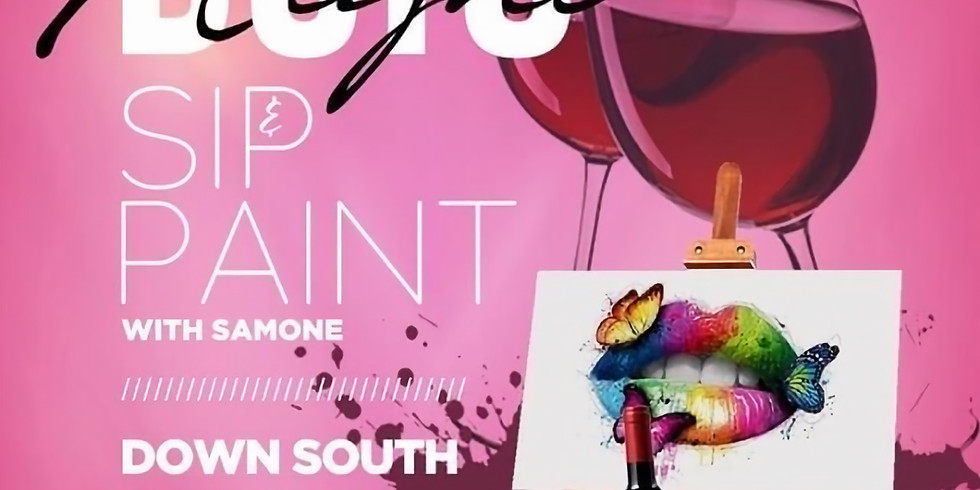 Paint & Sip With Samone: Date Night Edition