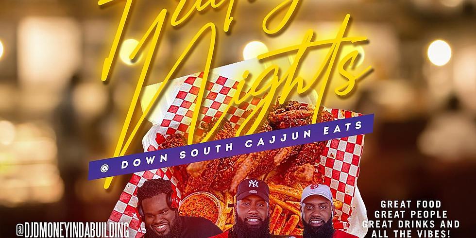 Friday Nights @ Cajjun Eats!