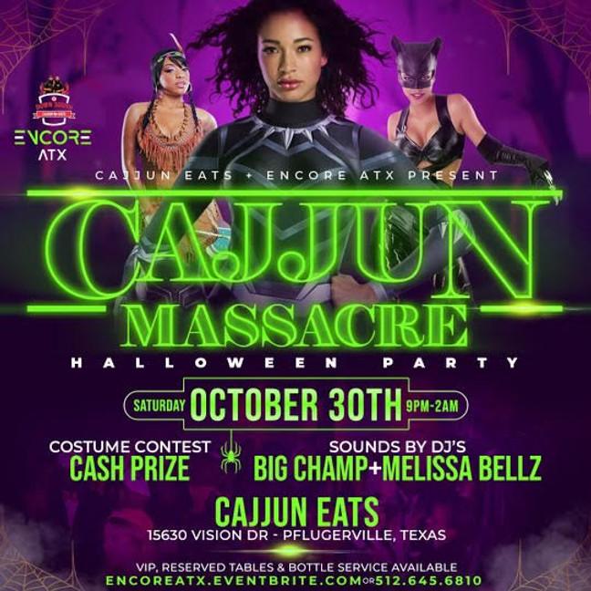Cajjun Massacre! Halloween Party