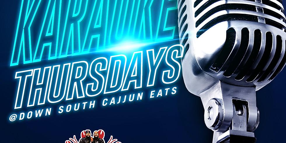 Live Music Thursdays! Karaoke Edition