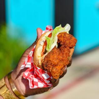 Original Cajjun Chicken Sandwich