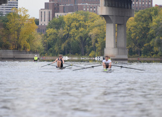 Practice Scrimmage for the Head of the Charles GRE