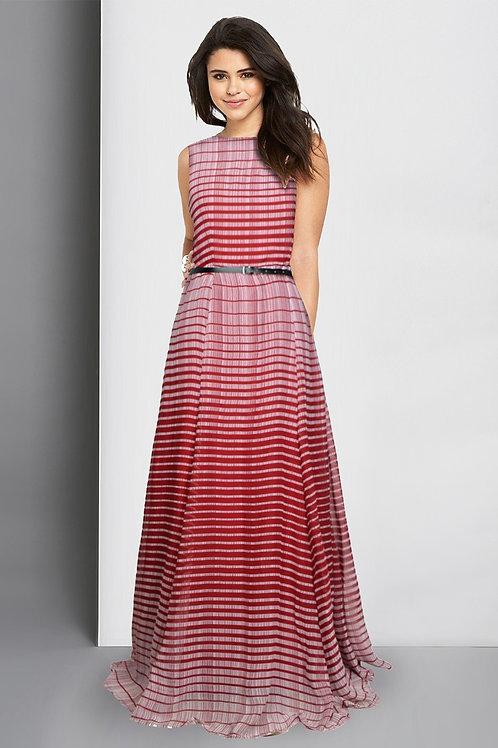 Decent Gowns Premium Georgette with Belt