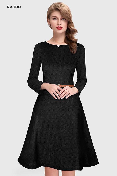 Kiya Western Dress Knitted Material