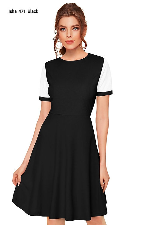 Women's Casual Western Knitted Stretchable Dress