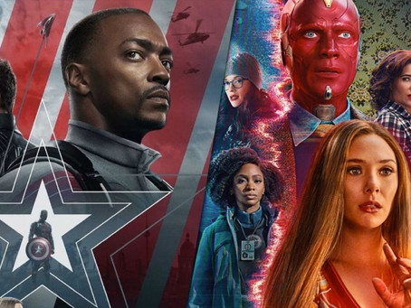 Wandavision, The Falcon and the Winter Soldier, and MORE