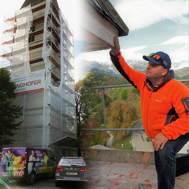 Gesegnetes Bauvorhaben in Puchberg