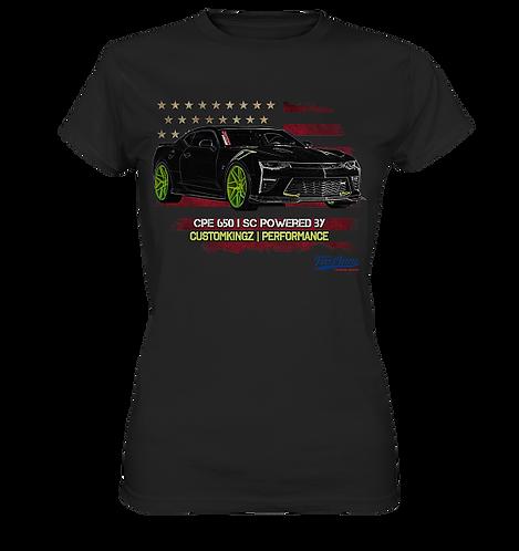 T-Shirt schwarz Chevrolet Camaro CPE 650|SC