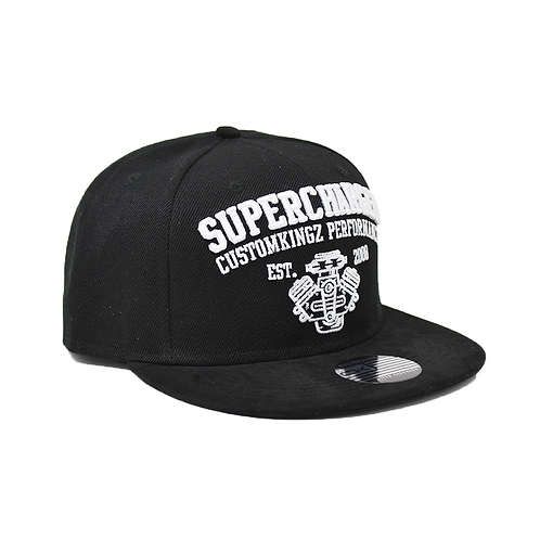 """SnapBack Cap Limited Edition """"Supercharged"""" schwarz"""