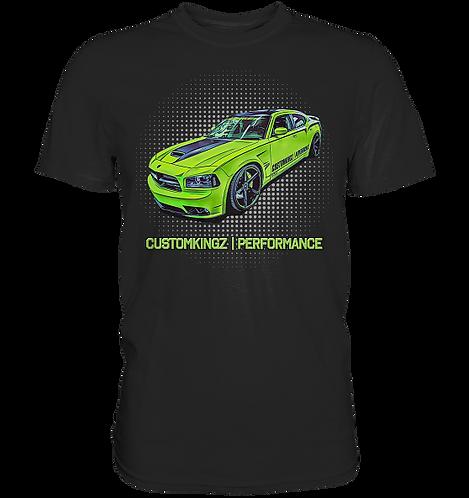 Herren/Unisex T-Shirt Charger SRT-8