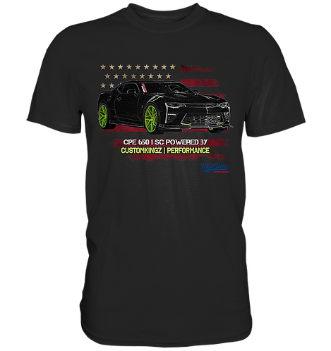 T-Shirt schwarz Chevrolet Camaro CPE 650 SC