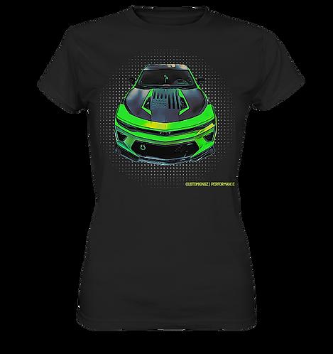 T-Shirt schwarz Chevrolet Camaro CPE 650|SC in grün