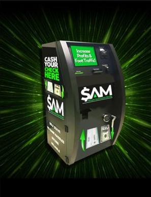 simple automated money kiosk