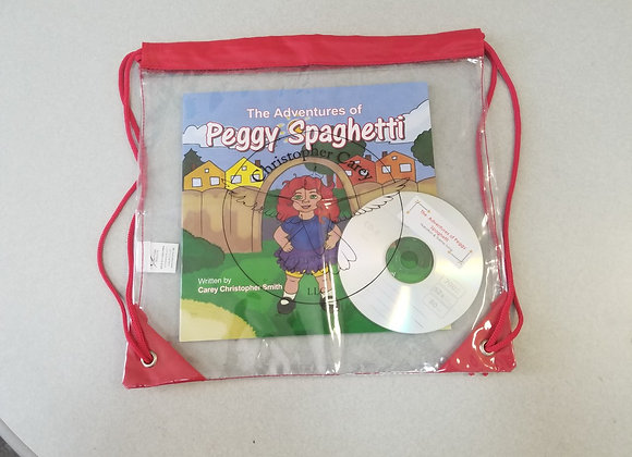 The Adventures of Peggy Spaghetti Package