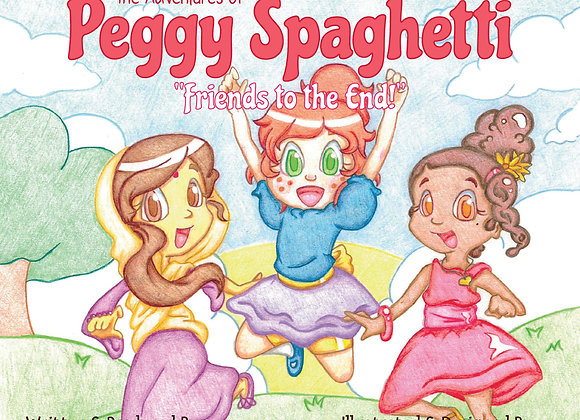 The Adventures of Peggy Spaghetti: Friends to the End (E-Book Download)