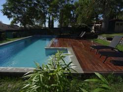Terrasse bois ipé 70m²