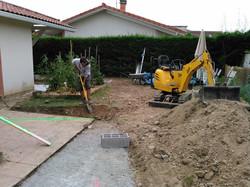 Jardin en cours de projet