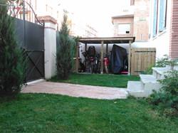 Abri jardin et cache pour poubelles